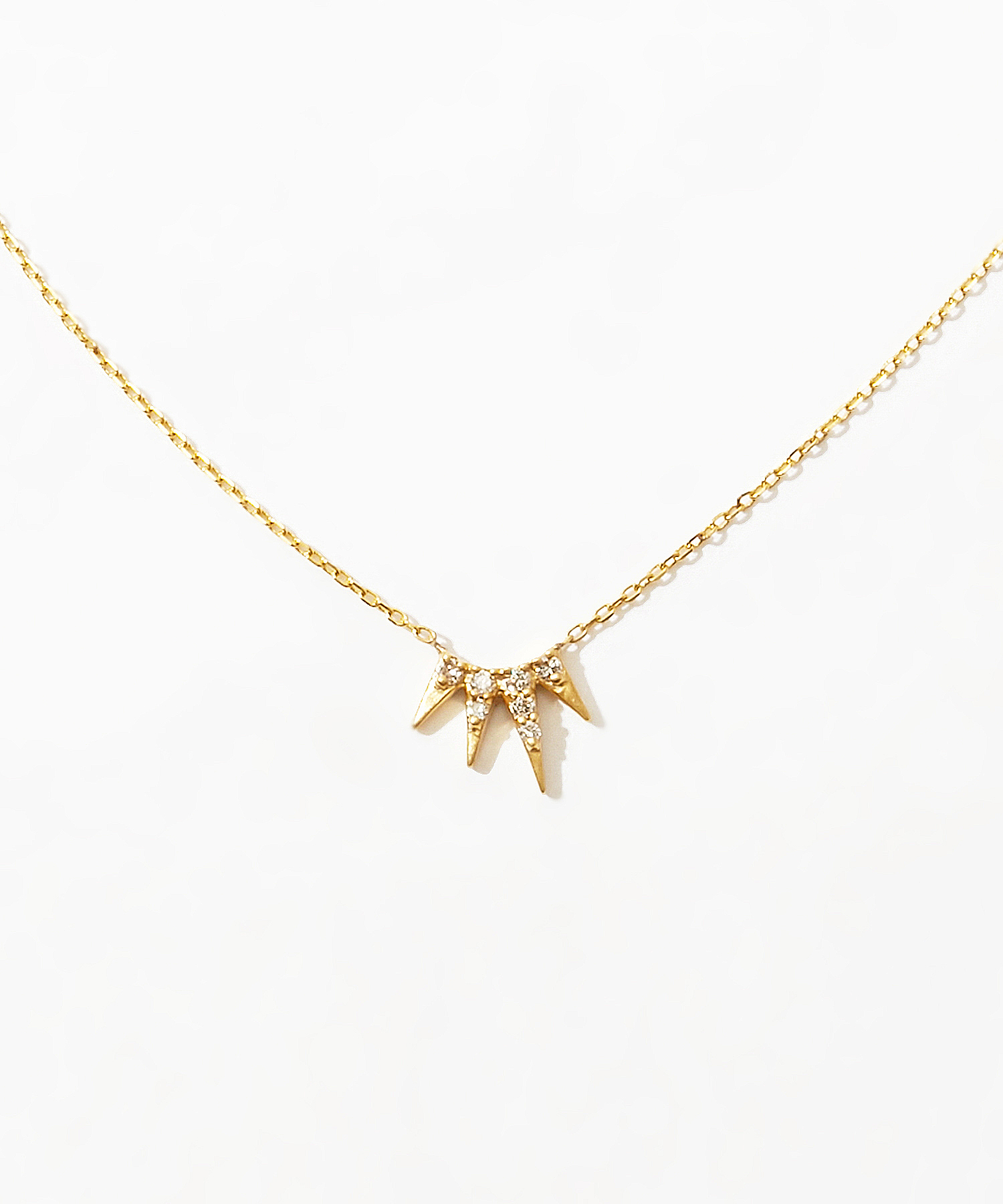 [dawn] K10 mere diamonds necklace