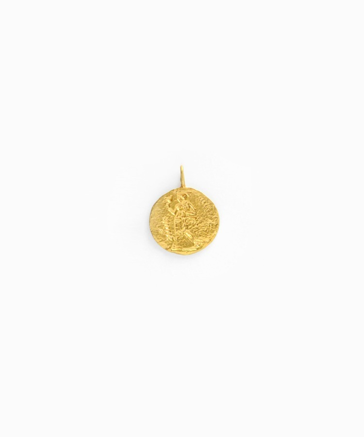 """ancient"" ancient coin - GREEK charm"