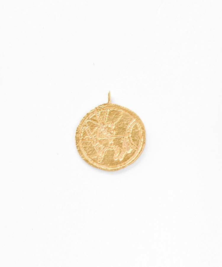 """ancient"" ancient coin - ARTIDA charm"