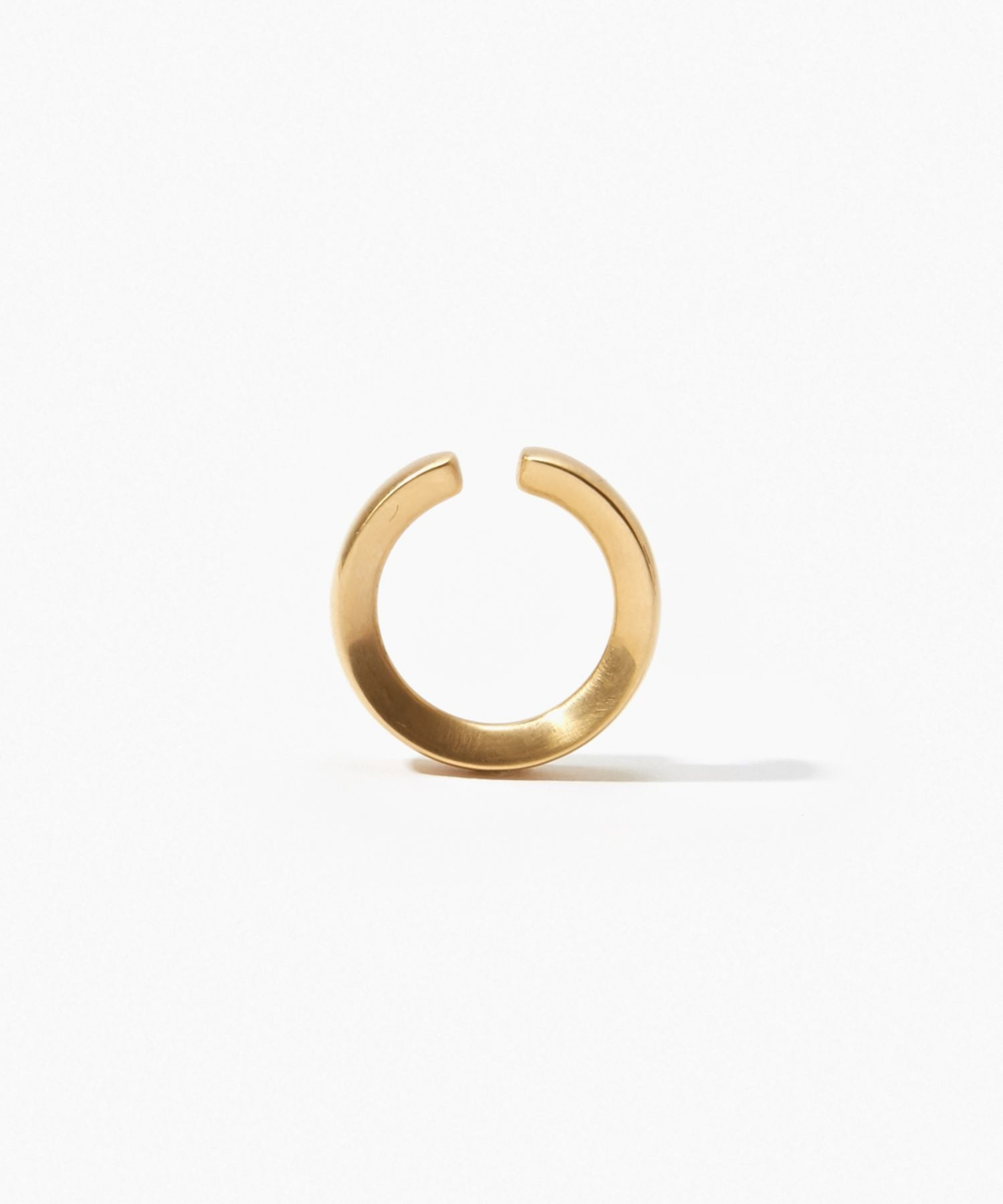 [bone] organic mat ear cuff