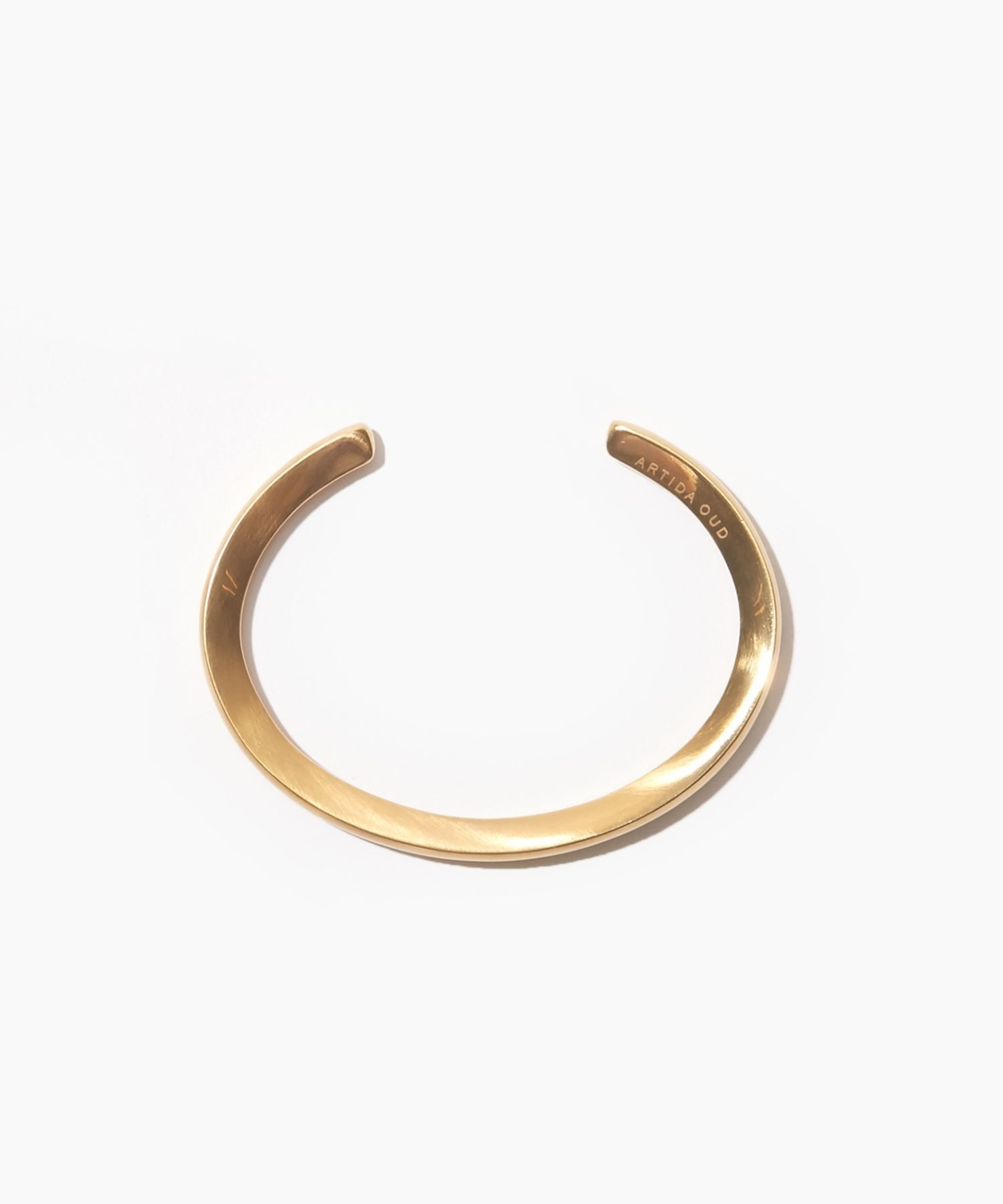 [bone] organic mat thin bangle