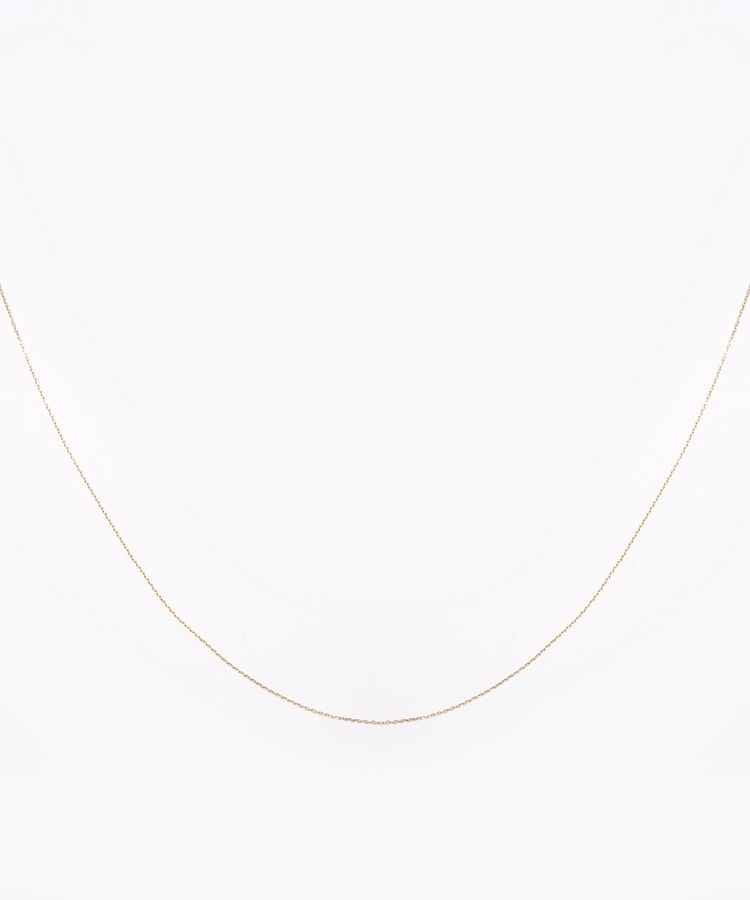 [basic] K10 basic chain long necklace necklace