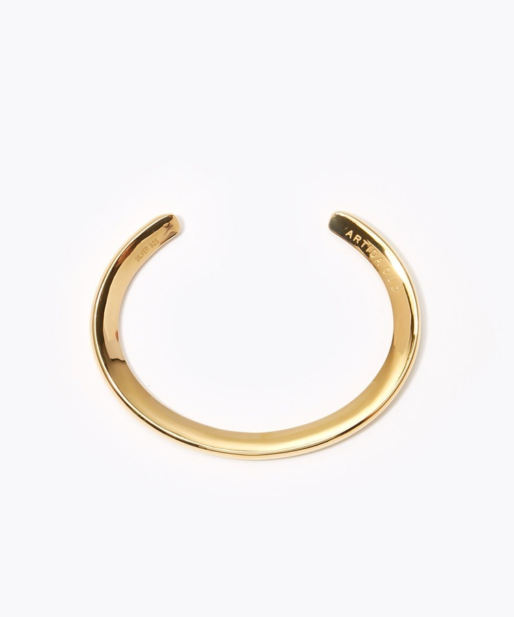 [bone] unisex organic thin bangle