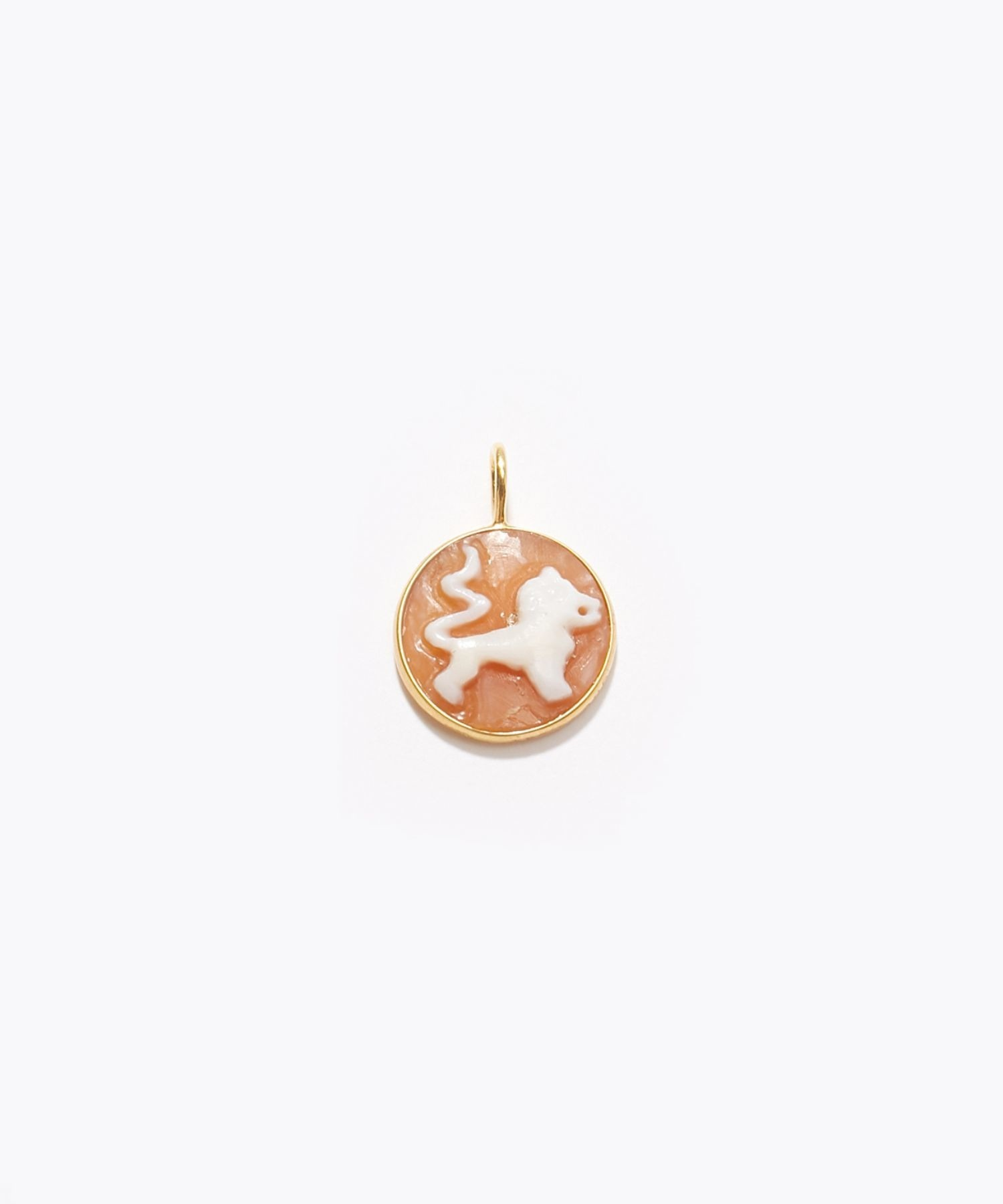 [constellation] Leo cameo curving charm