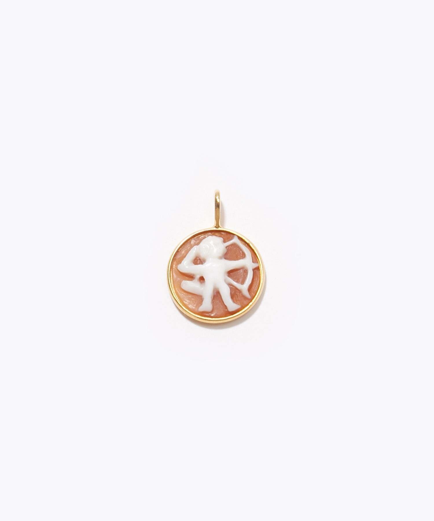 [constellation] Sagittarius cameo curving charm
