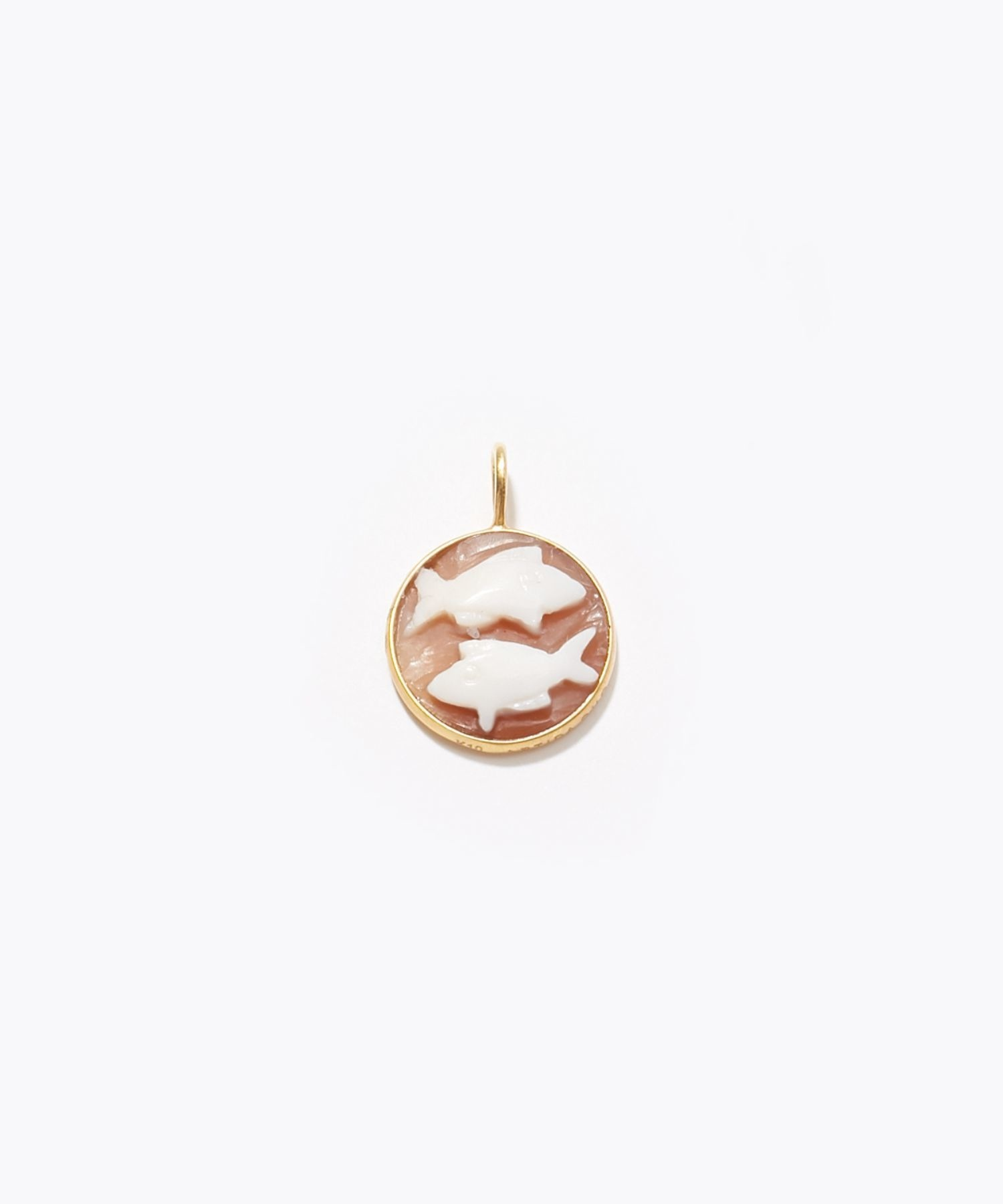 [constellation] Pisces cameo curving charm