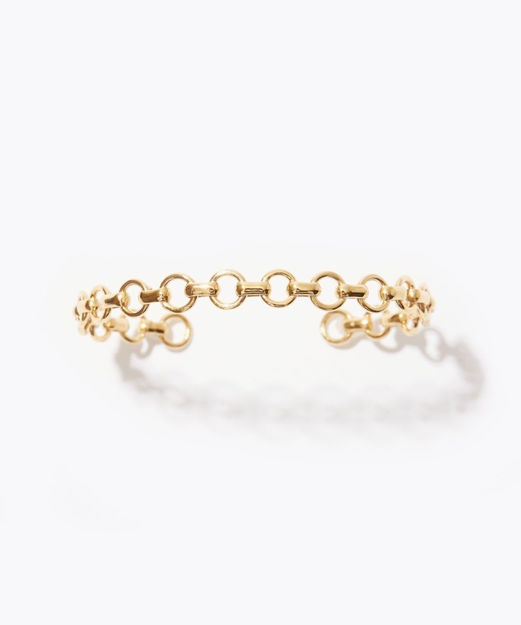 [cord] Arabian circle chain bangle