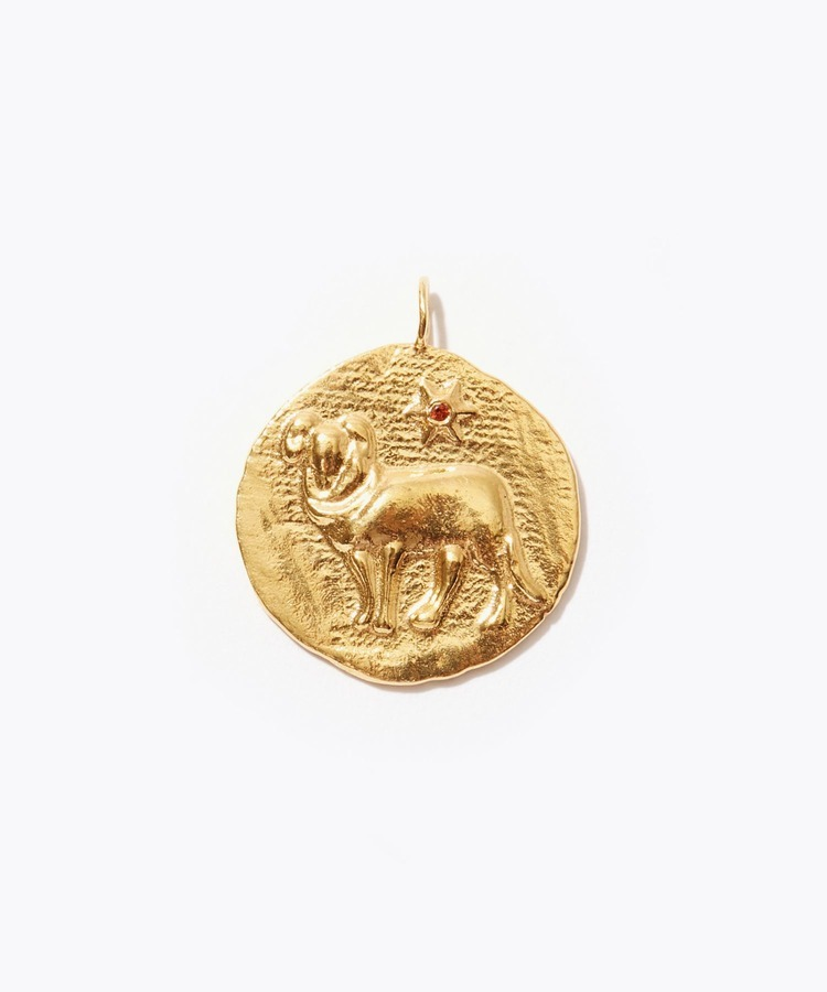 [constellation] Aries big coin charm