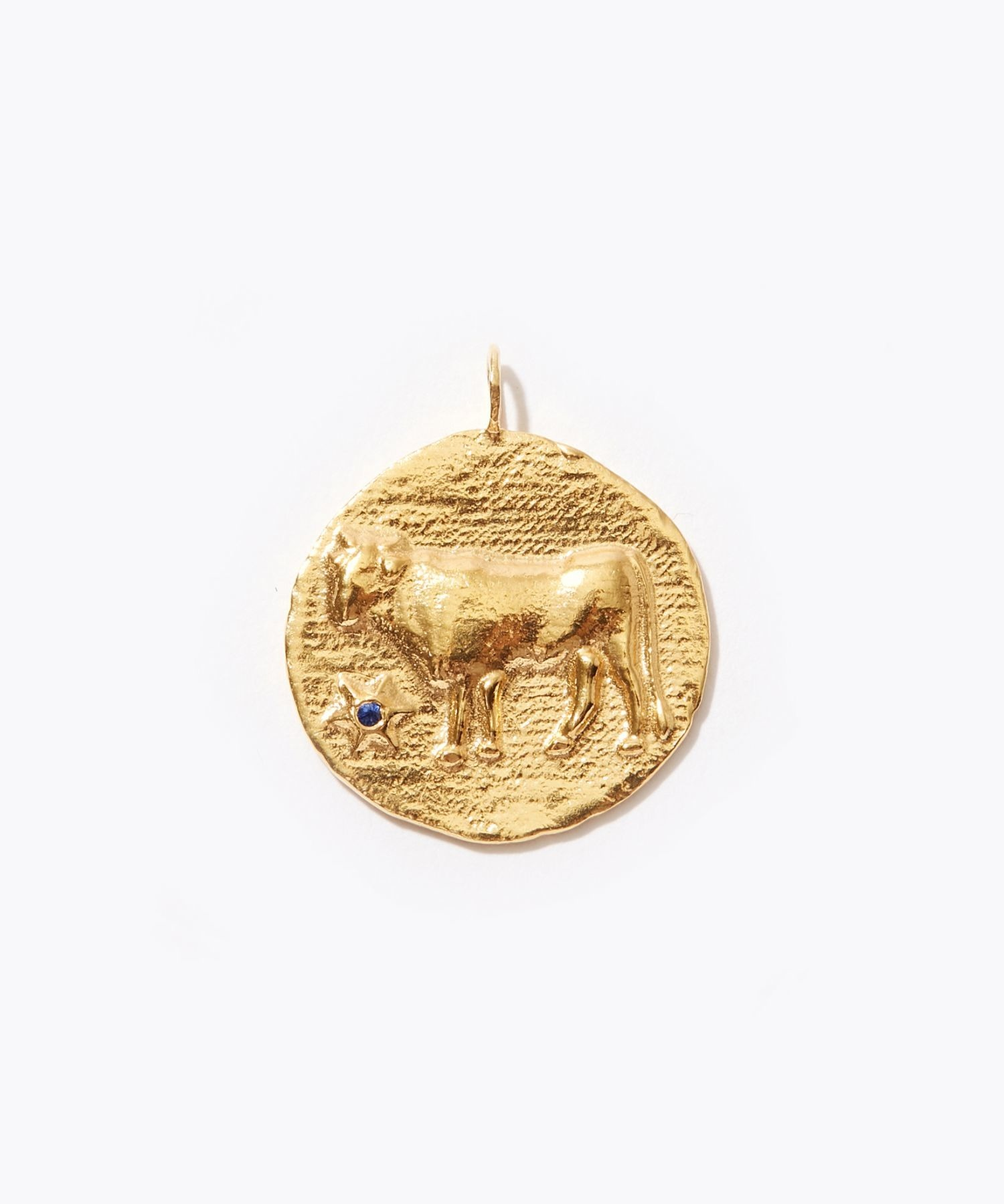 [constellation] Taurus big coin charm