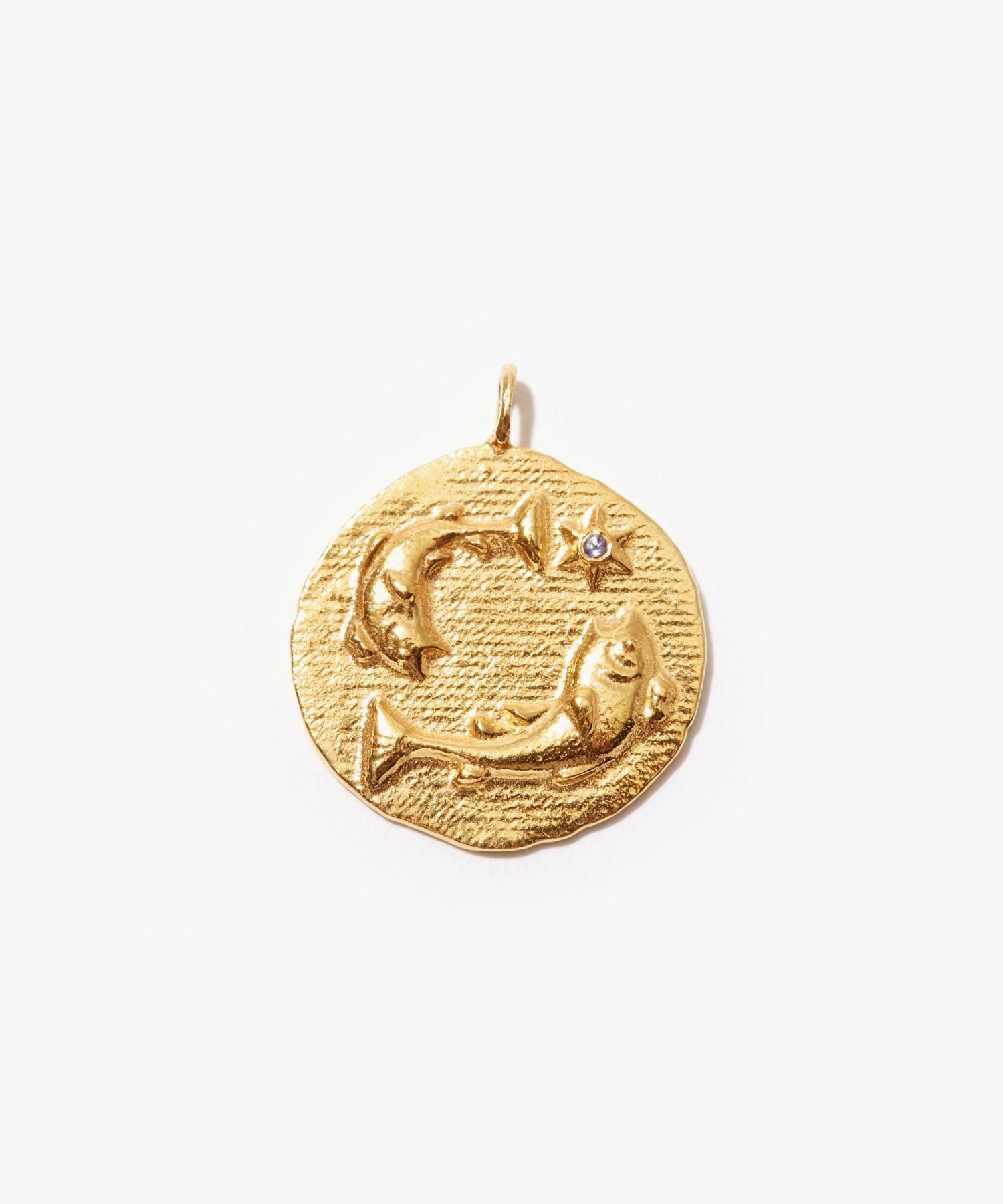 [constellation] Pisces big coin charm