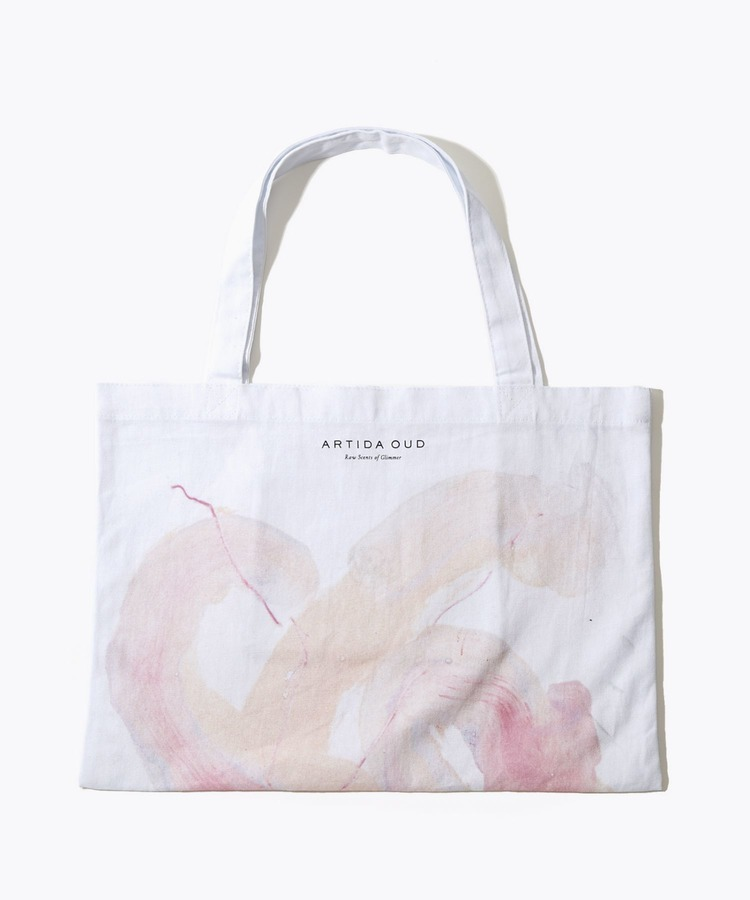 [artworks] Audrey Fondecave×ARTIDA OUD MS 02 moonstone M size organic cotton tote bag