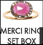 MERCI RING SET BOX
