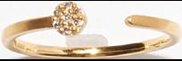 K18 フルムーン パヴェダイヤモンドRing